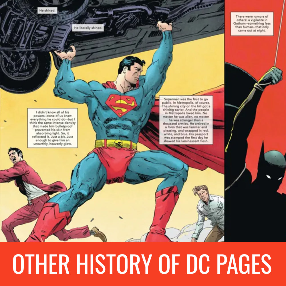 Andrea Cucchi The Other History of the DC Universe Pages