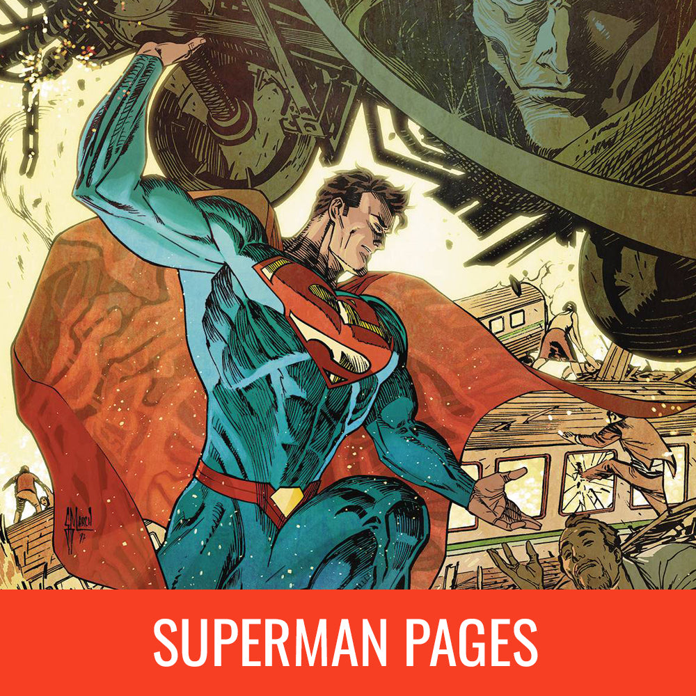Guillem March Superman Pages