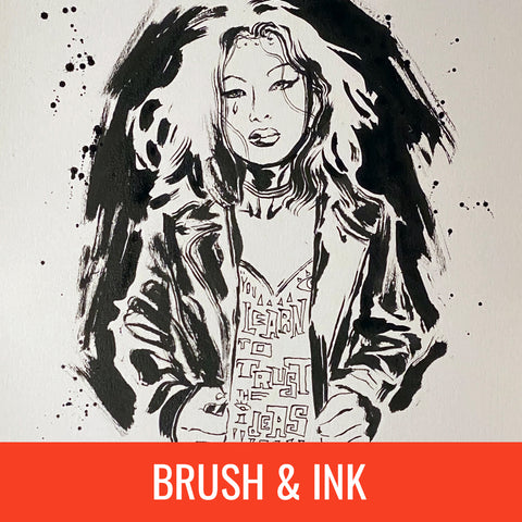 David Mack Brush & Ink