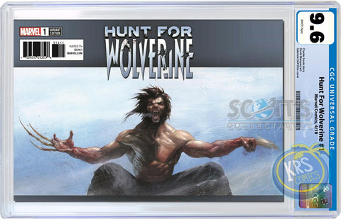 CGC 9.6 Gabriele Dell'Otto Hunt for Wolverine #1 Exclusive Trade Dress Cover