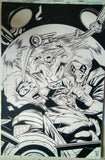 Rafa Sandoval Original Art Flash #67 Cover