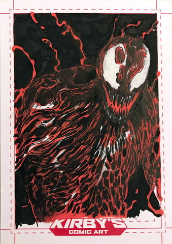 Carnage by Helena Masellis Sketchcard
