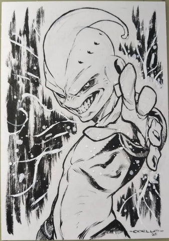 Iban Coello Original Art Dragon Ball Z Illustration 3