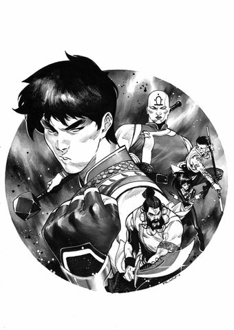 Dike Ruan Original Art Shang-Chi #1 Cover