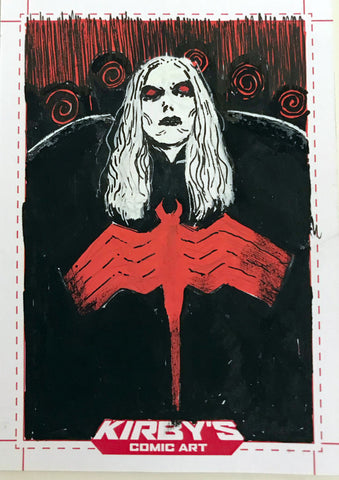 Knull by Helena Masellis Sketchcard