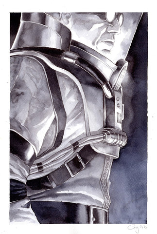 Guillaume Martinez Original Art Mr Freeze Illustration