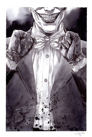 Guillaume Martinez Original Art Joker Illustration