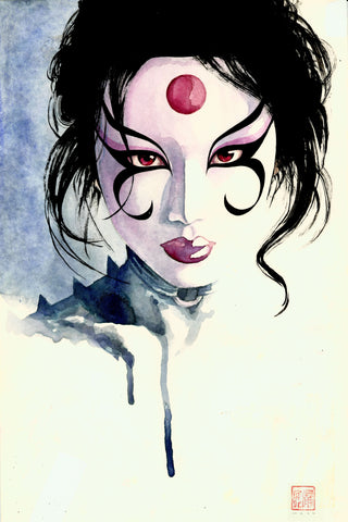 "David Mack Kabuki 12x18"" Limited Edition Giclee"