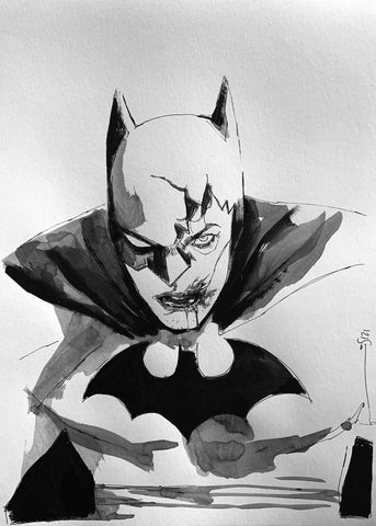 Helena Masellis Original Art A4 Batman