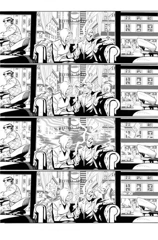 Rafa Sandoval Original Art Flash #750 Page 4