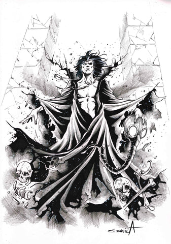 Sergio Davila Original Art Dream Sandman Collection