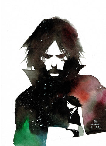 Dike Ruan Original Art Dream & Death Sandman Collection