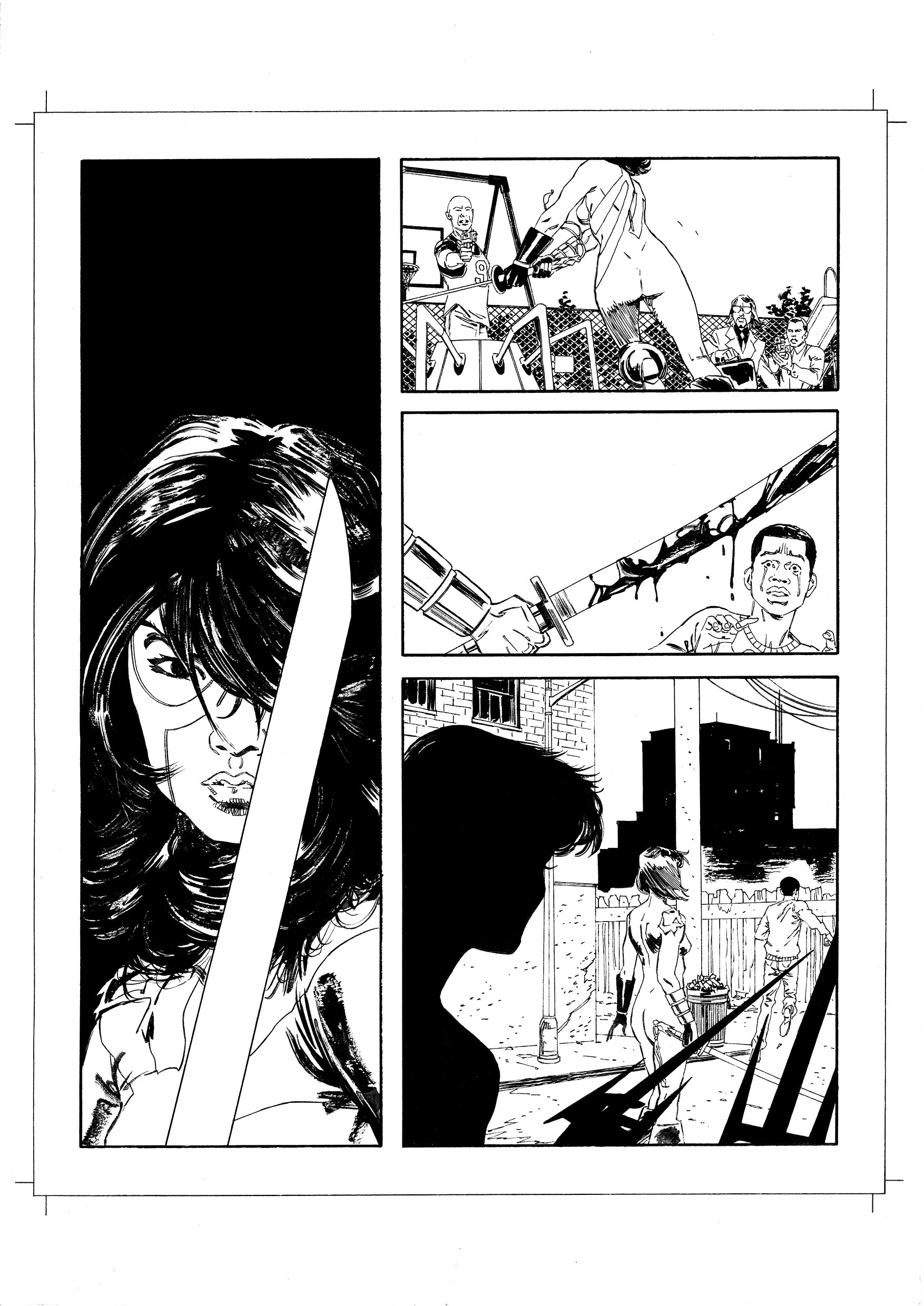 Andrea Cucchi Original Art Other History of DC #3 Page 35