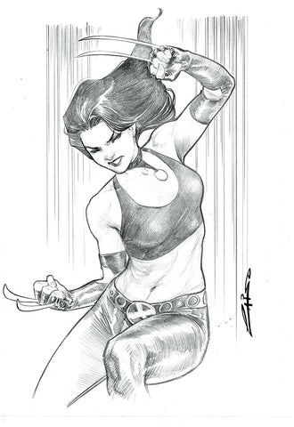 Emilio Laiso Original Art X-23 Pencil Illustration