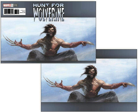 Gabriele Dell'Otto Hunt for Wolverine #1 Exclusive Variant Cover Set