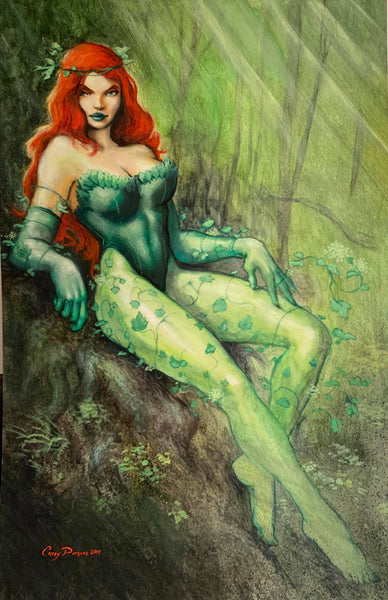 Casey Parsons Original Art Painting Poison Ivy