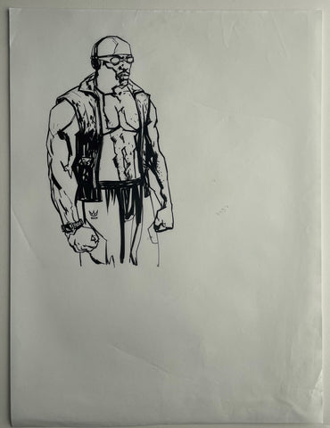 Alex Maleev Original Art Page From Bendis & Maleev's Daredevil Run (Reference 8)