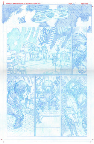 Paco Diaz Original Art Avengers Prologue #2 P15