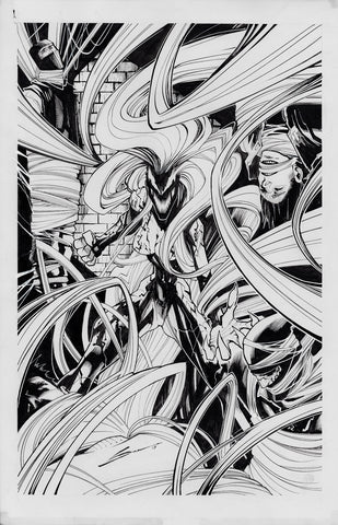 Gerardo Sandoval Original Art Absolute Carnage: Scream #1 Cover