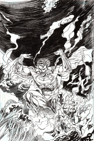 Guillem March Original Art Action Comics #985 Page 1