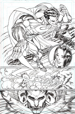 Guillem March Original Art Action Comics #985 Page 3