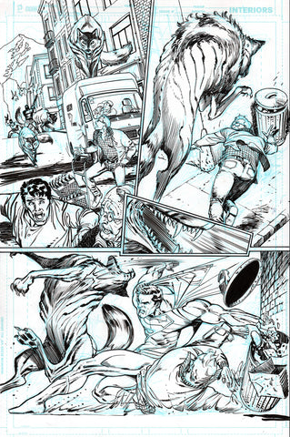 Guillem March Original Art Action Comics #985 Page 4
