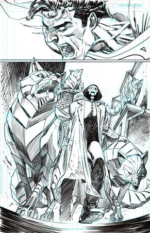 Guillem March Original Art Action Comics #985 Page 6