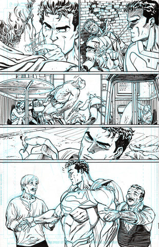 Guillem March Original Art Action Comics #985 Page 8