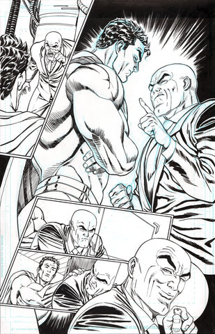 Guillem March Original Art Action Comics #985 Page 13