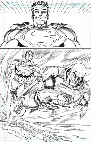 Guillem March Original Art Action Comics #985 Page 14