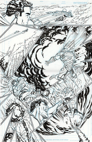 Guillem March Original Art Action Comics #985 Page 15