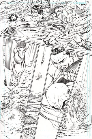 Guillem March Original Art Action Comics #985 Page 16