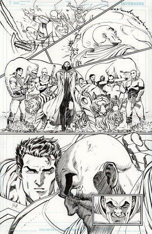 Guillem March Original Art Action Comics #985 Page 19