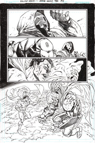 Guillem March Original Art Action Comics #986 Page 4