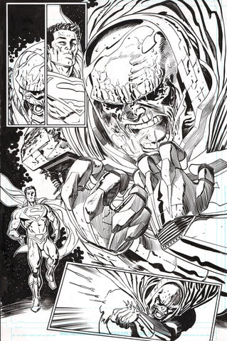 Guillem March Original Art Action Comics #986 Page 5