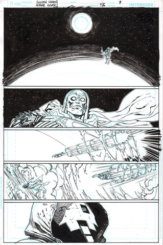 Guillem March Original Art Action Comics #986 Page 7