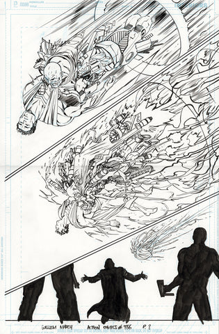 Guillem March Original Art Action Comics #986 Page 8