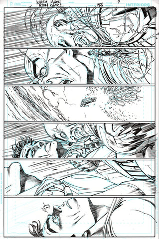 Guillem March Original Art Action Comics #986 Page 9