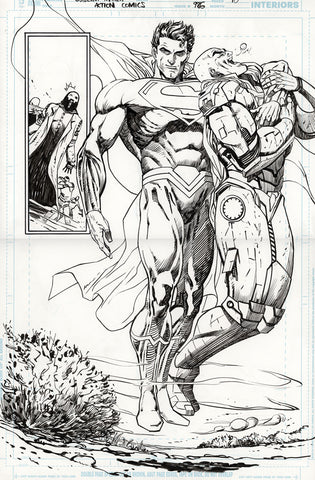 Guillem March Original Art Action Comics #986 Page 10