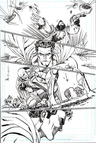 Guillem March Original Art Action Comics #986 Page 11