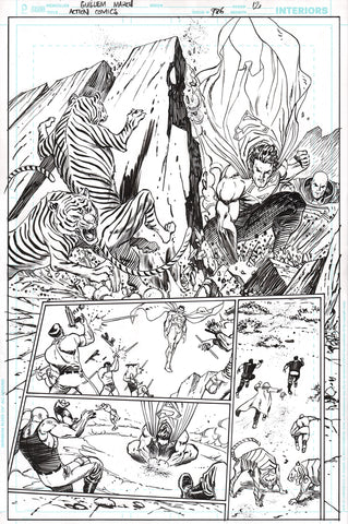 Guillem March Original Art Action Comics #986 Page 12