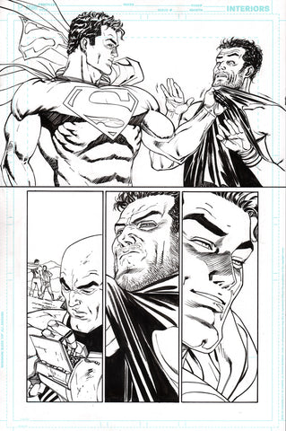 Guillem March Original Art Action Comics #986 Page 14