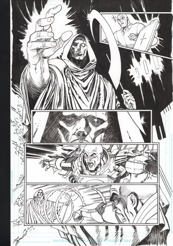 Guillem March Original Art Action Comics #986 Page 17