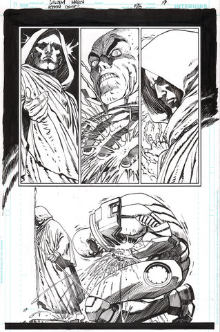 Guillem March Original Art Action Comics #986 Page 19
