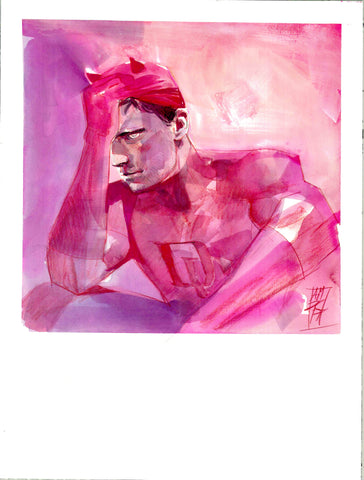 Alex Maleev Original Art Daredevil