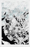 Gerardo Sandoval Original Art Asgardians of the Galaxy #8 Cover