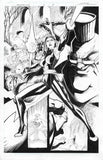 Gerardo Sandoval Original Art Astonishing X-Men #12 Cover and Page 5