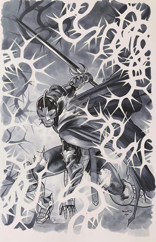 Paul Renaud Original Art Empyre: Avengers #3 Cover