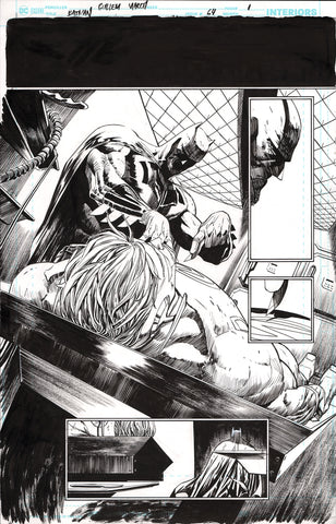 Guillem March Original Art Batman #64 Page 1