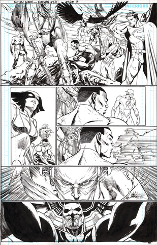 Guillem March Original Art Batman #64 Page 7